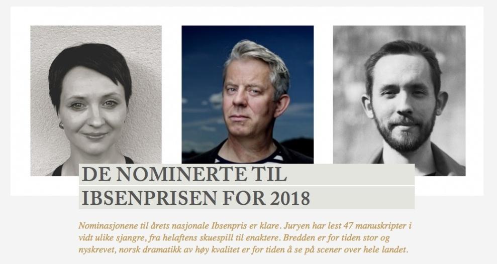 Bilde Ibsenprisen