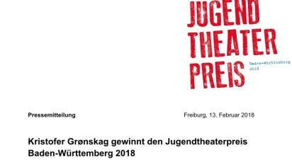 Presseskriv Jugendtheaterpreis